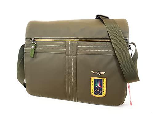 Aeronautica Militare Cartella Porta pc Uomo Verde