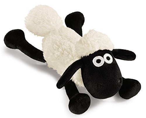 NICI 39661 Shaun The Sheep Plüsch, weiß