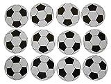 Novel Merk Soccer Ball Circle Teacher Decorations Small Refrigerator Magnet Set Miniature Design (12 Pieces)