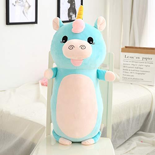 Boufery Cute Unicorn Plush Toys, Stuffed Soft Animal Pillow Dolls, Baby Sofa Cushion Toys, Birthday for Children 60cm
