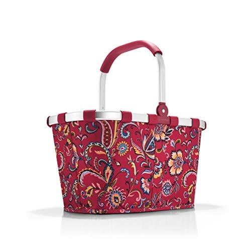 Reisenthel Einkaufskorb, Polyester, Paisley Ruby, 48 cm
