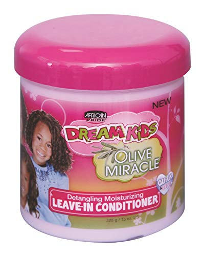 African Pride Dream Kids Olive Miracle Leave-In Conditioner, 15 oz by African Pride