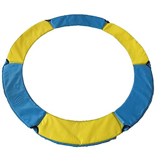 Sahoga Almohadilla de repuesto de seguridad para trampolín, tapete de primavera para cama de salto, funda de tela de esponja para cama de protección de trampolín