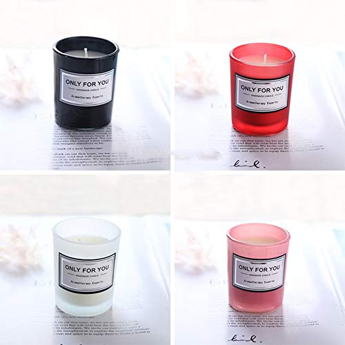ONLYFU Aroma Kerzen Perfekt Begleiter Bei Einer Stress Abbauenden Und Entspannenden Aromatherapie Perfekte Geschenkset