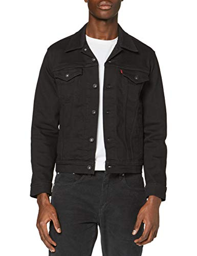 Levi's Herren The Jacket Jeansjacke, Dark Horse Trucker, Large