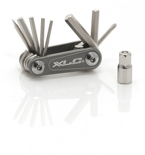 XLC Unisex– Erwachsene Multitool Nano TO-M08, Grau, One Size