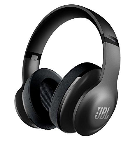 JBL Everest 700 Kabelloser Bluetooth Over-Ear Surround Kopfhörer mit Musiksteuerung und Integriertem Mikrofon - Schwarz