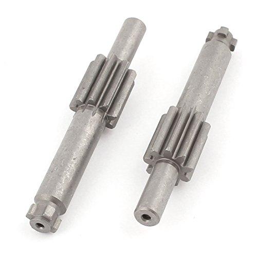 Árbol de acanalado de engranaje cilíndrico de martillo eléctrico longitud 75 mm para Bosch 26