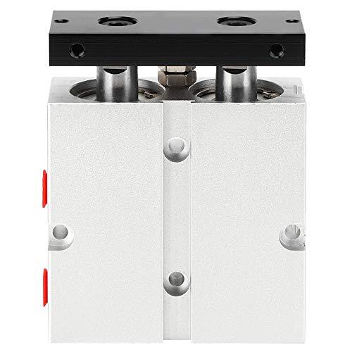 Cilindro de aire TN25 Varilla de doble eje de doble acción Cilindro de aire neumático Diámetro 25 mm/1 pulgada 0.1-0.9MPa Carrera máxima 200 mm(20mm)