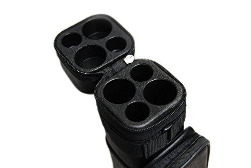 HAN'S DELTA 2x2 Hard Square Pool Cue Billiard Stick Carrying Case