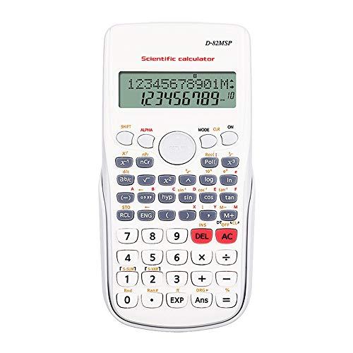 XBAO Scientific berekenen, calculator, studieassistentie, teststand, 240 berekeningsfuncties, wetenschappelijke rekenmachine