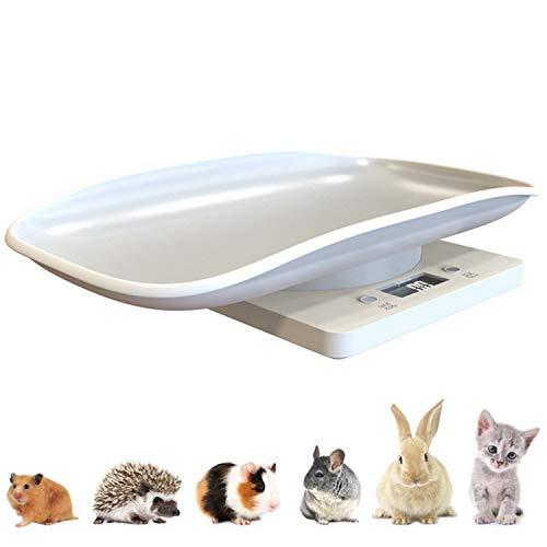 FLAMEER Digitalwaage Tierwaage Kleintierwaage für Kleintiere Meerschweinchen, Kaninchen, Hamster, Chinchillas und Igel