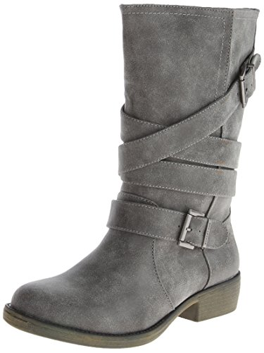 Rocket Dog womens Truly Western Boot, Charcoal, 9.5 US