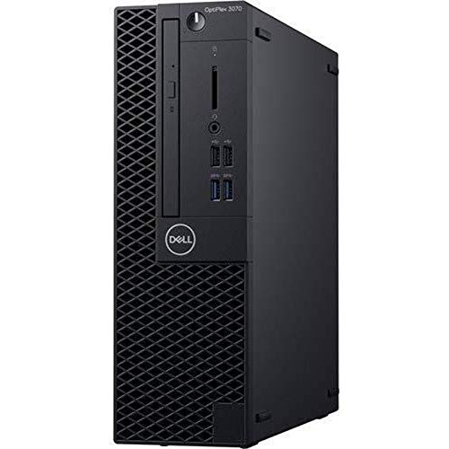 Dell Optiplex 3070 SFF Office PC i5 9500 9th Gen 3.0Ghz 16GB RAM 512GB SSD HD Graphics USB 3.1 DFF7J (Renewed)
