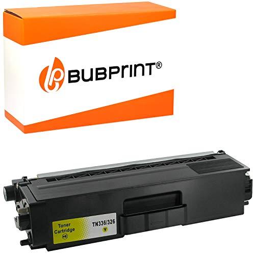 Bubprint Toner kompatibel für Brother TN-326 Y TN-326Y für MFC-L8850CDW HL-L8350CDW HL-L8350CDWT MFC-L8650CDW HL-L8250CDN MFC-L8850CDW Gelb