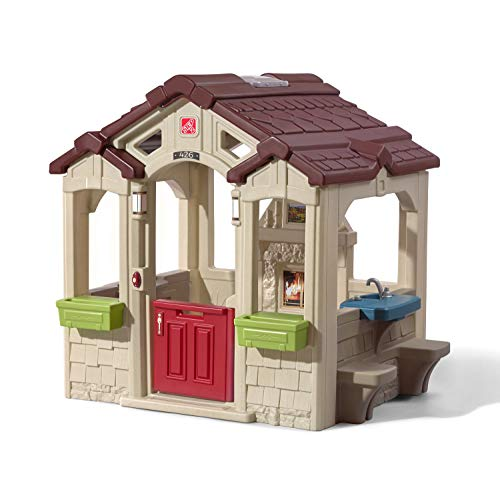 Step2 Charming Cottage Kids Playhouse, Multicolor