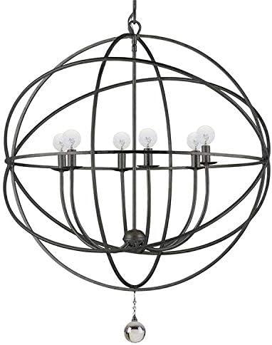 wholesale Solaris 6 2021 Light Bronze Sphere outlet online sale Chandelier online