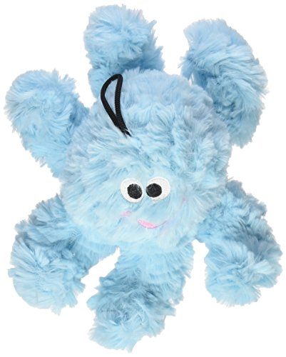Patchwork Pet Pastel Octopus 8-Inch Squeak Toy for Dogs