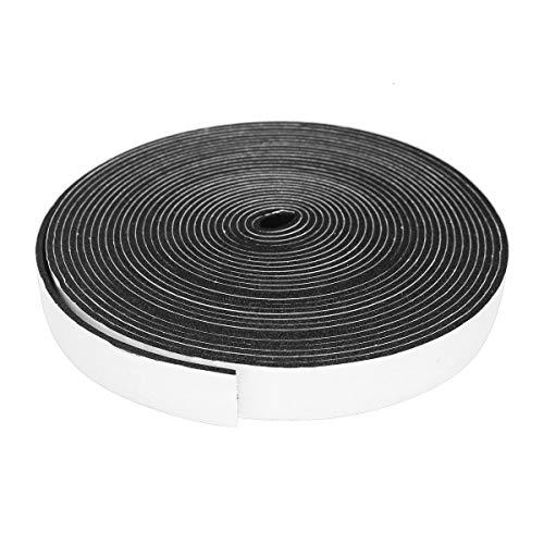 すき間ふさぎ 隙間テープ 防音テープ 耐候性 、防寒、防虫 シーリング 節電 冷暖房効率アップ 高密度防音絶縁 (25mm*3mm*10m)