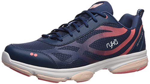 Ryka Women's Devotion XT Cross Trainer, Navy, 8.5 M US