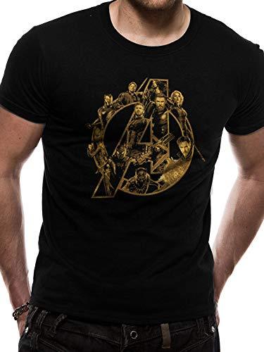 T-Shirt (Unisex a Logo (Black) [Import]