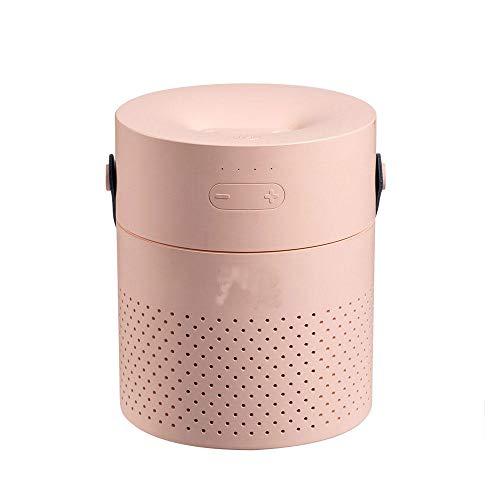 Yudy draagbare luchtbevochtiger voor thuis, slaapkamer, kantoor, auto, met led-lampjes, USB-oplader, met koude nevel, schone lucht, luchtreiniger met laag geluidsniveau