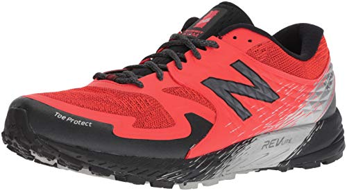 New Balance Men's Summit K.O.M. V1 Trail Running Shoe, Orange, 11.5 D US