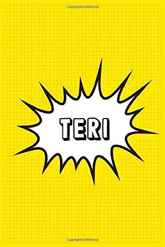 Teri: Personalized Name Teri Notebook, Gift for Teri, Diary Gift Idea