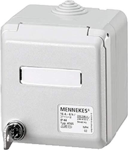 MENNEKES 4165 Weiß Steckdose