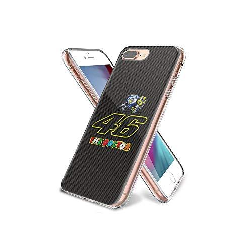 HeTIANxa Conciliable iPhone 8 Plus Funda, iPhone 7 Plus Funda, Transparente TPU [Protección a Cámara] para iPhone 8 Plus/iPhone 7 Plus con diseño de patrón HTX#007A