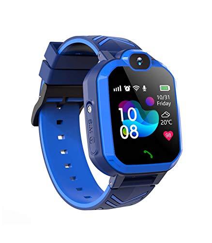 Kinder Spiel Smartwatch Telefon mit Musik-Player,Touch LCD Kid Smart Watch mit Anti-Lost Voice Chat, für Jungen und Mädchen Studenten