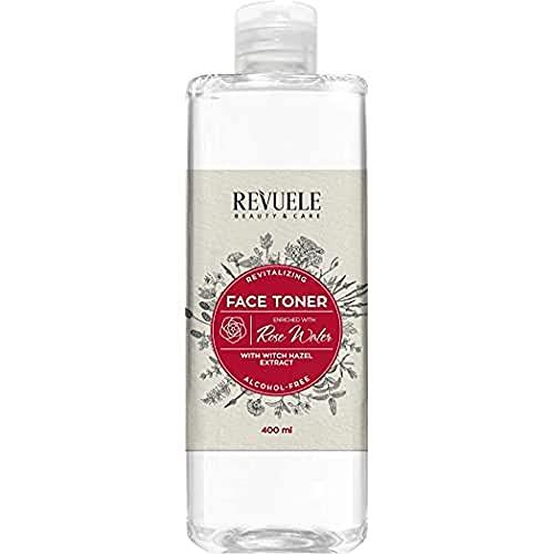 Revuele Gesichtswasser mit Zaubernuss und Rosenwasser, 400 ml