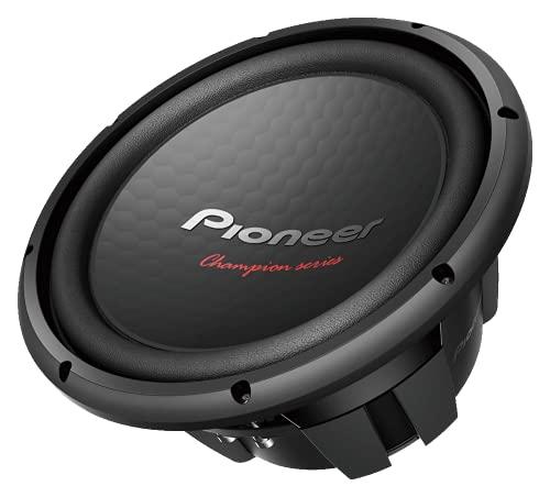 "Pioneer TSW312D4 Champion Series 12"" 1500 Watt Dual 4 Ohm Voice Coil DVC Car Subwoofer"