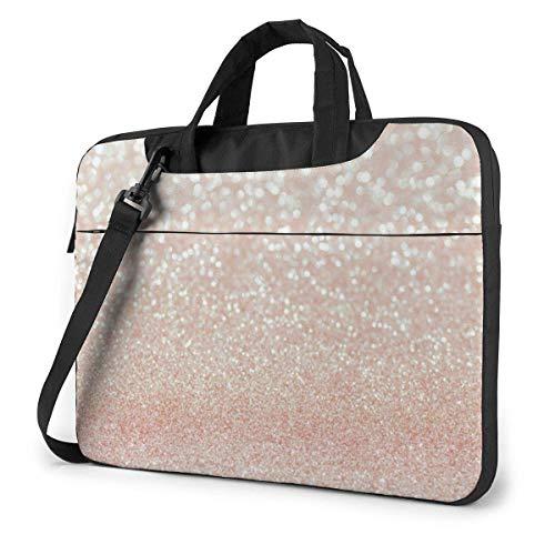Rose Gold 1 Laptop Shoulder Messenger Bag, Notebook Sleeve Carrying Case for Hp Ultrabook Chromebook