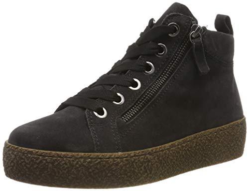 Gabor Shoes Damen Comfort Basic Stiefeletten, Grau (Dark-Grey (Micro) 39), 40 EU