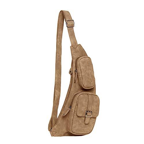 Piace Molto Crossbody Rugzak/Bodybag Patricia Cognac
