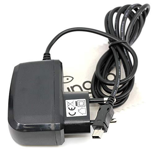 Ladegerät passend für Teufel 103918003 Wireless Bluetooth Bamster Soundbar 1A OTB mit mungoo Displayputztuch