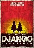 Django Unchained – Leonardo Dicaprio – Film Poster