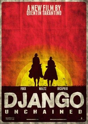 Stampa su poster da parete dal film Django Unchained,Leonardo DiCaprio,30cm x 43cm