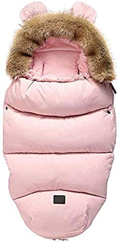 DYHF Saco Universal Pushchairs cálidos Dedos de los pies Acogedor, a Prueba de Agua Caliente del Invierno del bebé del Saco de Dormir para Todos Sillas de Paseo, cochecit