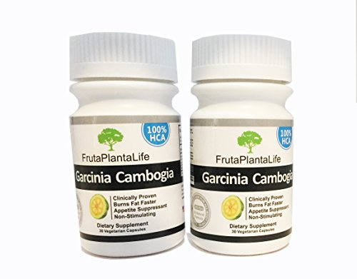 2 Bottles Pure Garcinia Cambogia Extract 100 Hca Diet Pills