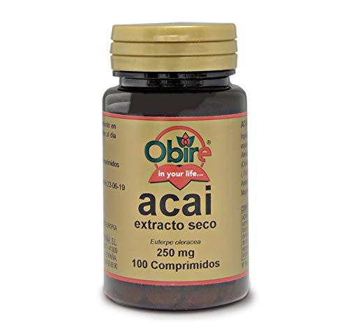 Obire   Acai 1000 mg   (Extracto Seco 250 mg  ) 100 Comprimidos