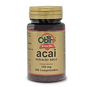 Obire | Acai 1000 mg | (Extracto Seco 250 mg |) 100 Comprimidos