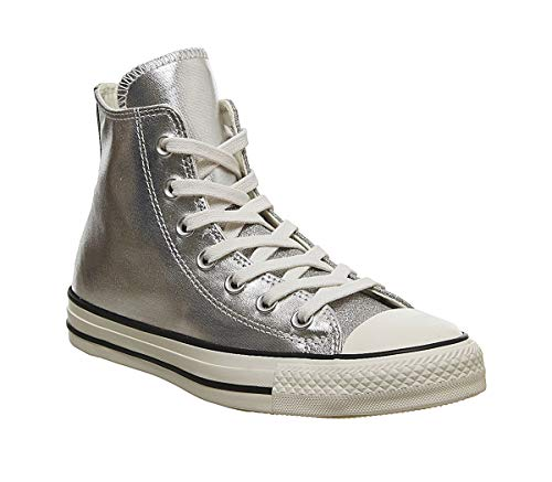 Converse All Star Hi Mujer Zapatillas Silver