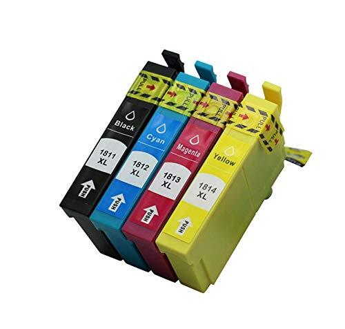 Multipack T1816 T1811 T1812 T1813 T1814 - Cartuchos de tinta para impresora Epson XP 102 202 205 212 215 225 30 302 305 312 315 322 323 325