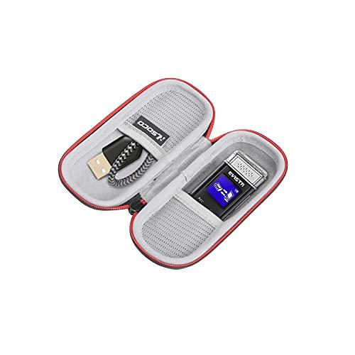 RLSOCO Étui pour Enregistreur numérique vocale EVISTR 16 Go avec Lecture/Sony ICD-TX 650B Dictaphones