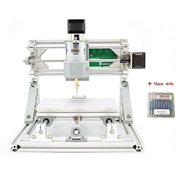 DIY 2-in-1 CNCルーターキット+ 5500mWレーザー CNC1610 ミニフライス盤 USBデスクトップ彫刻機、木材、木工用 マーキングマシン - DIY 2-in-1 CNC Router Kit CNC 1610 With ER11 + 5500mW Laser Engraver - Mini PCB Milling Machine, USB Desktop Engraving Marking Machine, For Wood, Woodworking