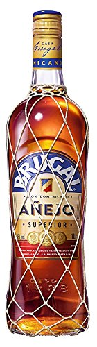Brugal Añejo Ron Dominicano, 38% - 1 L