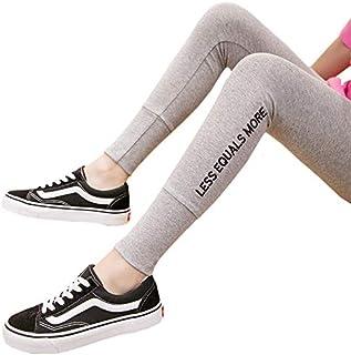 Yuen Pantalones de Mujer/Pantalones de Vestir Exteriores de Mujer/Pantalones Delgados de Cintura Alta(XXL, Light Ash)