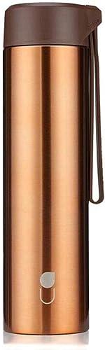 Générique FF Couple Tasse étudiant féminin Belle Tasse en Acier Inoxydable (Couleur   Copper)